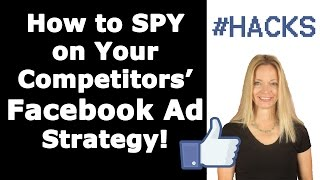 facebook ads how to spy on competitor s ad targeting