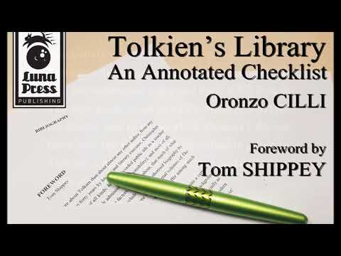 Tolkien's Library : An Annotated Checklist by Oronzo Cilli