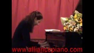 "Elena Gantchikova plays Medtner ""Primavera"" Op. 39 No. 3"