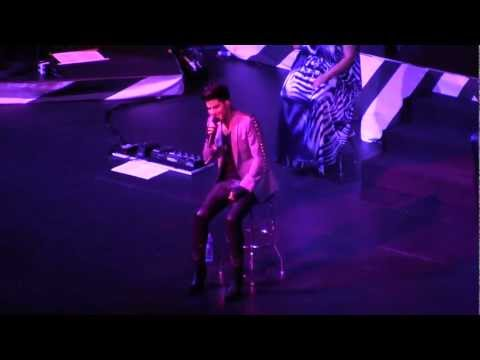 [HD] Adam Lambert - Time For Miracles Live in Singapore 2013