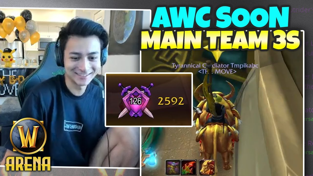 AWC THIS WEEKEND - Main Team 3s Practice w/ Carl & Vince