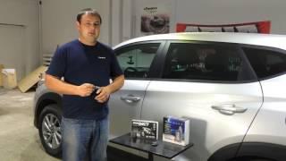 Защита от угона Hyundai Tucson 2016 г.: Pandora DX50 и Pandect IS570