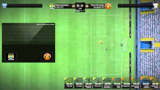 FX Eleven Gameplay - Manchester United #3 - MAN CITY MATCH! (NEW 2014 FOOTBALL MANAGER GAME)