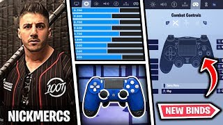 *NEW* NickMercs Fortnite Settings and Controller Binds (UPDATED 2019)