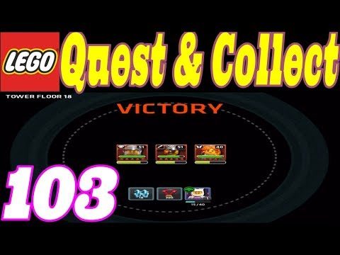 MAD CREATORS TOWER LEVEL 18 !!! - LEGO QUEST & COLLECT - LET'S PLAY #103