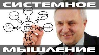 Системное мышление руководителя. Бизнес-урок №1. Сергей Куранов