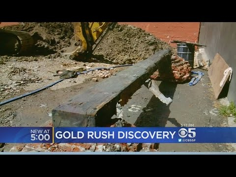 Gold Rush Artifact Unearthed In San Francisco Condo Project