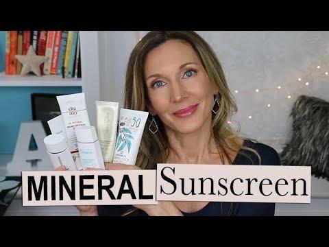 Best Mineral Sunscreens ~ No White Cast, Good Under Makeup!