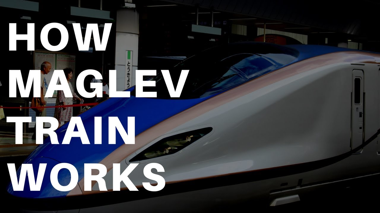 How Do Maglev Trains Work >> How Maglev Train Works Magnetism Youtube
