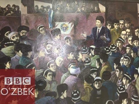 Ислом Каримов ва Тоҳир Йўлдош учрашуви кўргазмага қўйилди - BBC O'zbek