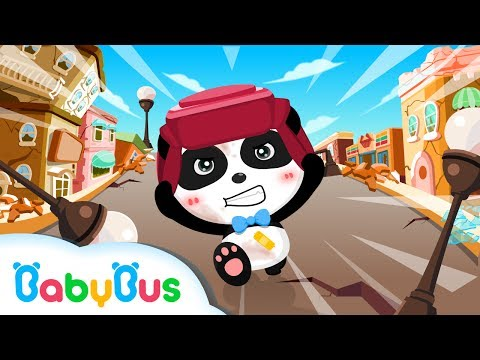 Baby Panda Earthquake Safety Tips | Kids Games | Gameplay Videos | For Children | BabyBus