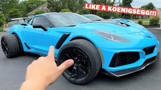 I Bought The Most INSANE CARBON FIBER Wheels For My 1,000HP ZR1!!! *$20,000 A Set!*