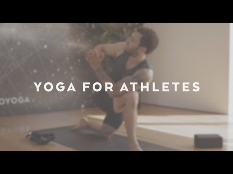 Yoga Flow For Athletes With Calvin Corzine