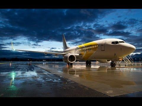 Полёт на  Boeing-737 (default). FSX.