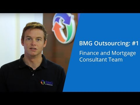 BMG Outsourcing: #1 Finance and Mortgage Consultant Team