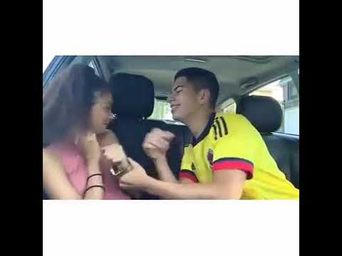 Romantic Couple Kiss In Car   Couple KIssing In Car   The Couples Point thumbnail