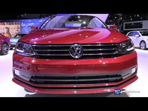 2016 Volkswagen Jetta TSI - Exterior and Interior Walkaround - 2015 LA Auto Show