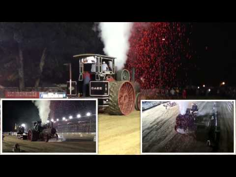 3 ANGLES 110HP Case Steam Tractor Pull Pinckneyville Illlinois August 15 2014