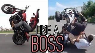Like a Boss | Motorrad Edition
