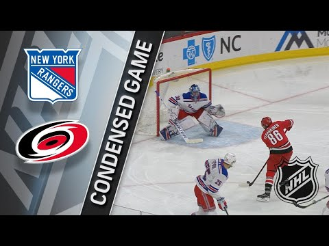 03/31/18 Condensed Game: Rangers @ Hurricanes