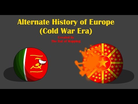 Alternate History of Europe in Countryballs (Cold War Era) Ep.11 [FINALE]: The North American War