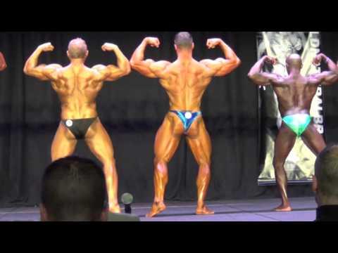 WNBF Pro Men's bodybuilders