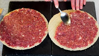Вы никогда не готовили мясной фарш таким образом! Готовлю их часто вместо котлет! | Appetitno.TV