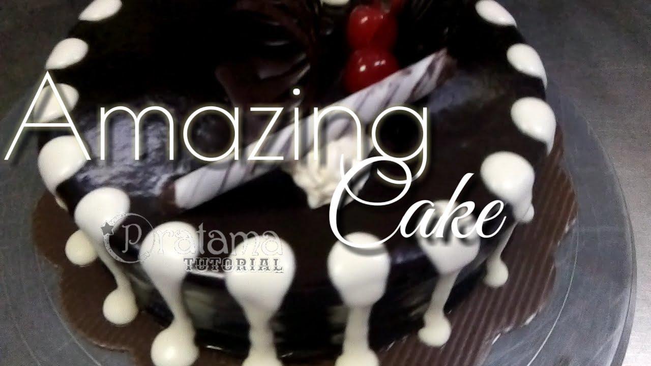 Terbaru Hiasan Kue Tart Dari Coklat Ganache