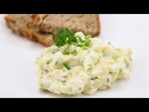 Schneller und leckerer Eiersalat