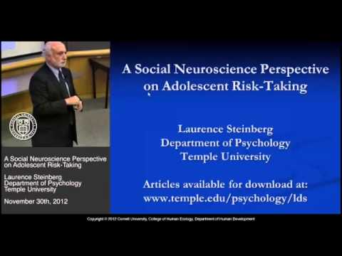 Risk Taking and Adolescence: Negligence and Brain Science