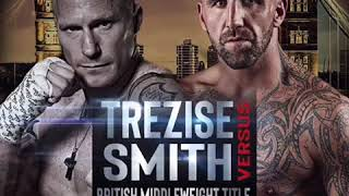 Smudger Smith Vs Kris Trezise British Middleweight Title BKB
