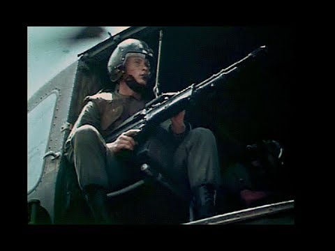 Shotgun Rider: Helicopter Door Gunners in the Vietnam War (Restored Color 1968)