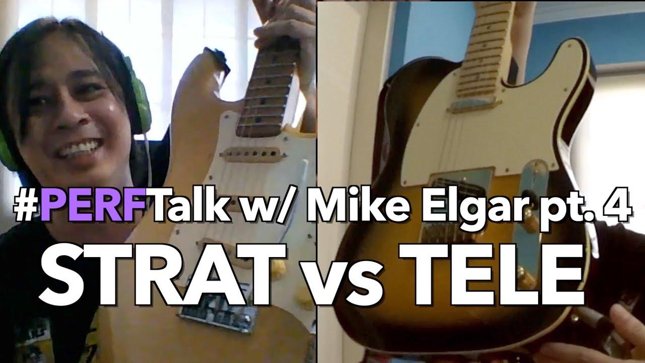 #PERFTalk with Mike Elgar pt. 4: STRAT vs TELE   TAGALOG, no English subs
