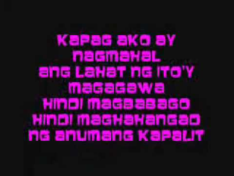kapag ako ay nagmahal by jolina