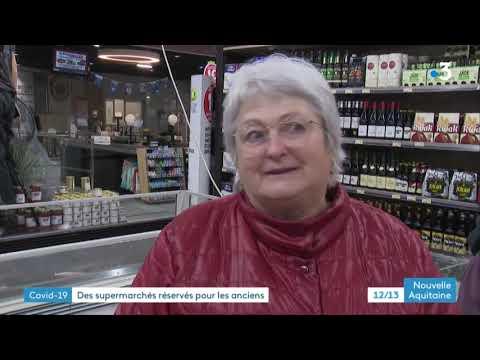 Coronavirus - À Jarnac, un supermarché ouvre plus tôt pour les personnes âgées