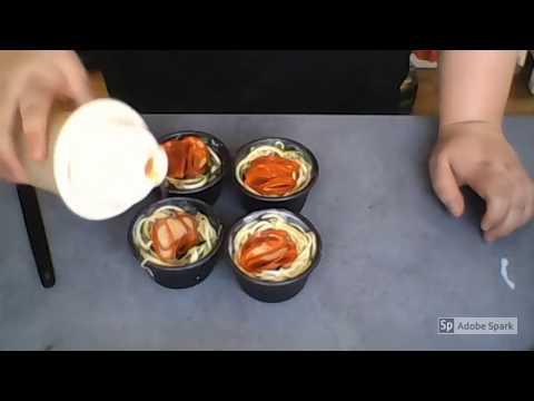 tupperware---spiralizer-junior-et-ramequins-ultra-pro---nids-de-courgettes-au-chorizo