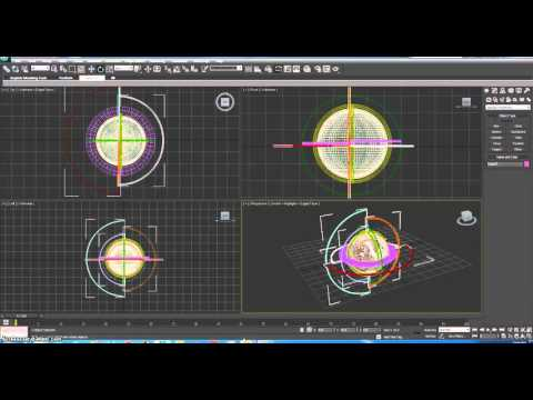 Interior Design In 3ds Max Bangla 2016-News Intro Modeling - News Logo Modeling In 3ds Max Part-3