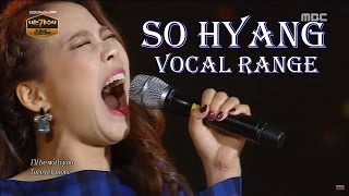 Best of Sohyang 소향  Full Vocal Range (D3-C#6-A6) Low, Belt & Mixed High Notes Head Voice