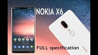 nokia x6 full specification and price of smartphone