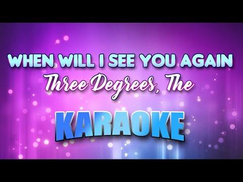 Three Degrees, The - When Will I See You Again (Karaoke & Lyrics)