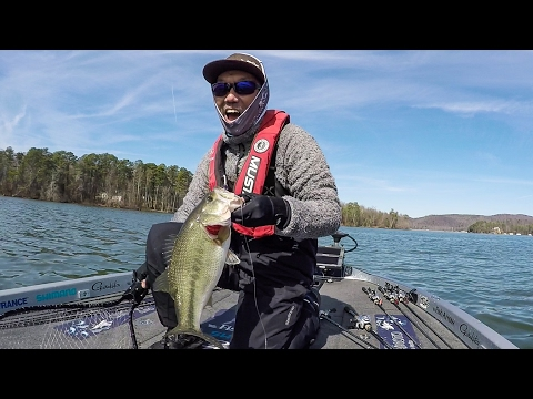 Another Fun Day with Shin Fukae on Lake Guntersville