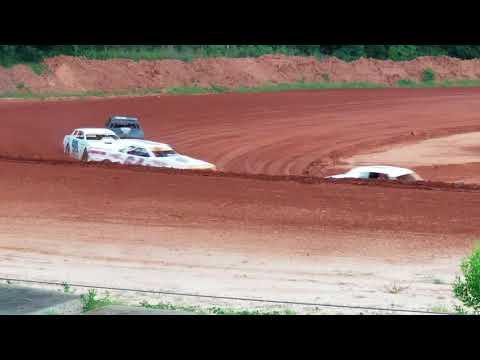 6-2-18 Southern Raceway Pure Stock Heat Race 2