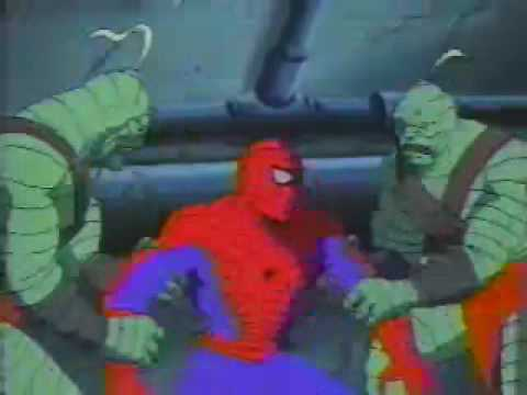 Spider Man TAS Lizard King Promo - YouTube