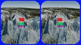 Swiss Alps Jungfrau 3d Vr Video Stereogram Magic Eye Video Tour With  Google Earth  스위스 융프라우 매직아이