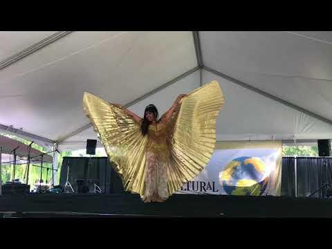 Rhina Bellydance- Wings-Ice Queen 2017