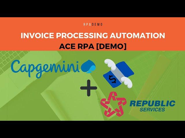 Invoice Processing Automation - Capgemini Republic Services Demo