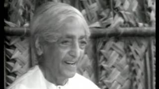 On right action and self-knowledge | J. Krishnamurti