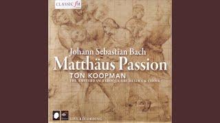"""Matthäus Passion, BWV 244: Recitativo, """"Und es waren viel Weiber da"""""""