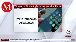 Tribunal prohíbe a Apple vender algunos modelos de iPhone en China