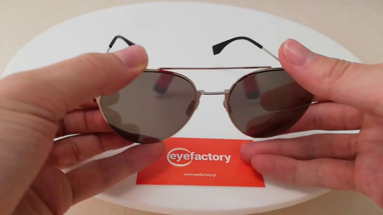 0432483315eb Fendi Sunglasses FF 0194 S 3YG 0T. Eye Factory